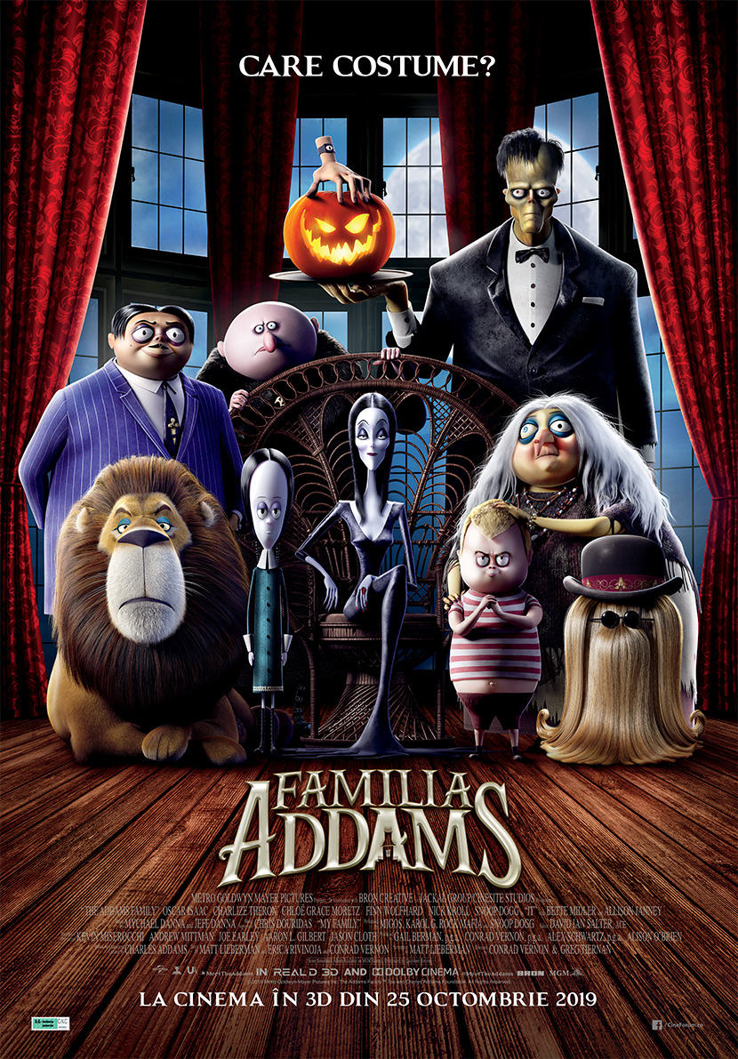 the addams family 992110l
